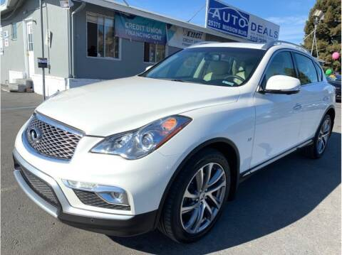 2017 Infiniti QX50 for sale at AutoDeals in Hayward CA