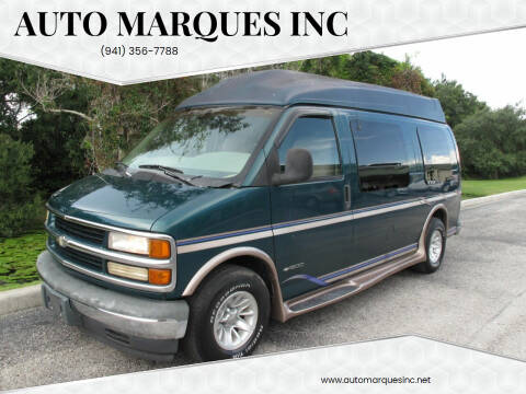 1999 Chevrolet Express Cargo for sale at Auto Marques Inc in Sarasota FL