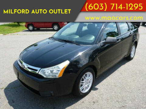 2010 Ford Focus for sale at Milford Auto Outlet in Milford NH
