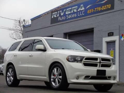 2011 Dodge Durango for sale at Rivera Auto Sales LLC in Saint Paul MN