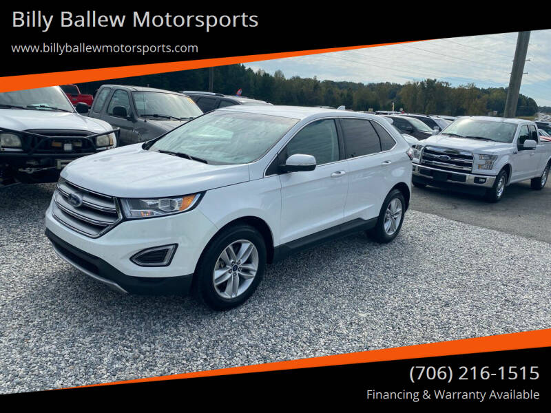 2017 Ford Edge for sale at Billy Ballew Motorsports in Dawsonville GA
