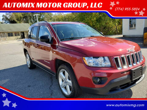 2012 Jeep Compass for sale at AUTOMIX MOTOR GROUP, LLC in Swansea MA
