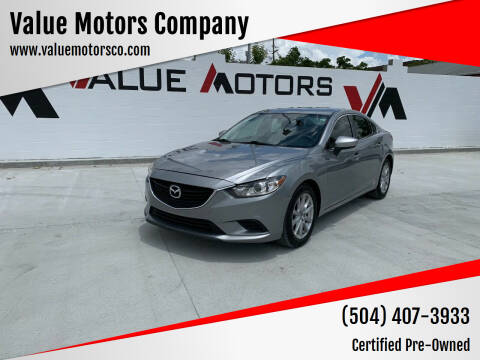2015 Mazda MAZDA6 for sale at Value Motors Company in Marrero LA