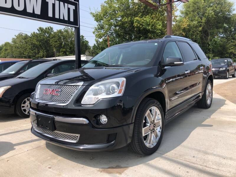 2012 GMC Acadia for sale at Wolff Auto Sales in Clarksville TN