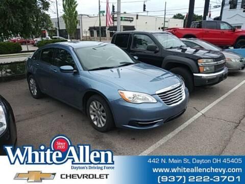 2011 Chrysler 200 for sale at WHITE-ALLEN CHEVROLET in Dayton OH