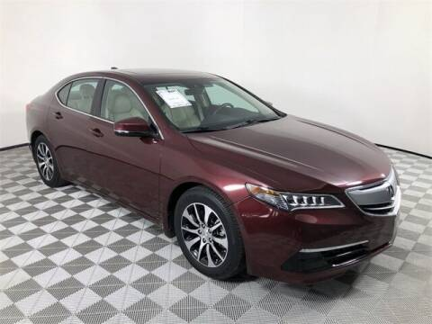 2016 Acura TLX for sale at Allen Turner Hyundai in Pensacola FL