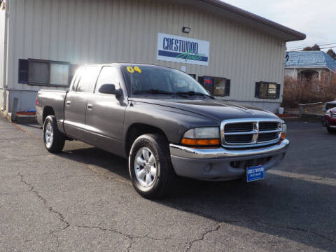 2004 Dodge Dakota for sale at Crestwood Auto Sales in Swansea MA