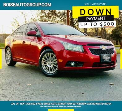 2012 Chevrolet Cruze for sale at Boise Auto Group in Boise ID