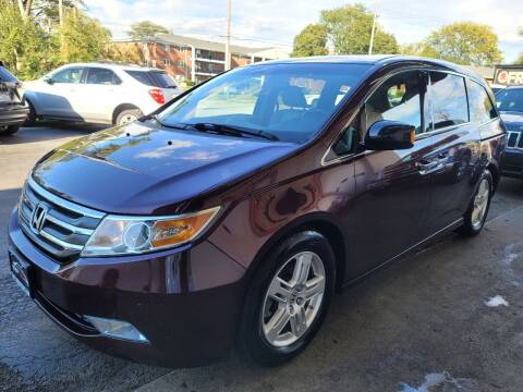 2012 Honda Odyssey for sale at TOP YIN MOTORS in Mount Prospect IL