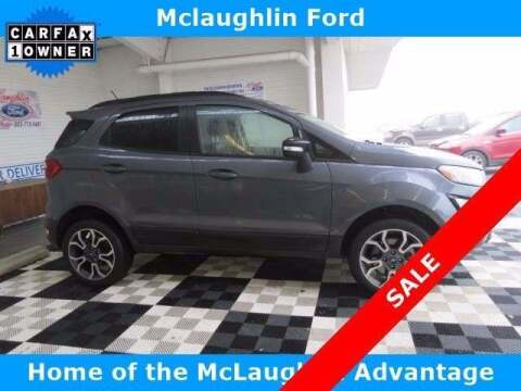 2019 Ford EcoSport for sale at McLaughlin Ford in Sumter SC