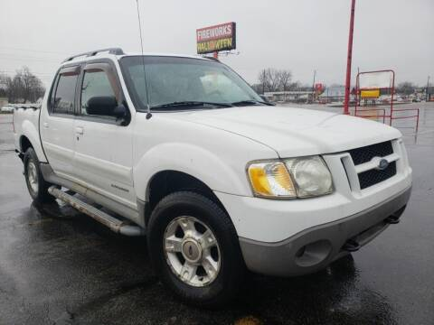 2001 Ford Explorer Sport Trac for sale at speedy auto sales in Indianapolis IN