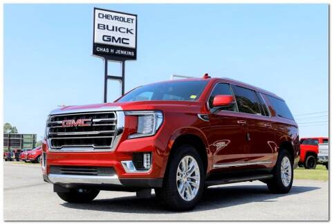 2021 GMC Yukon XL for sale at STRICKLAND AUTO GROUP INC in Ahoskie NC