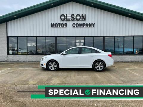 2014 Chevrolet Cruze for sale at Olson Motor Company in Morris MN