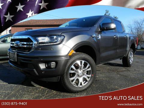 2020 Ford Ranger for sale at Ted's Auto Sales in Louisville OH