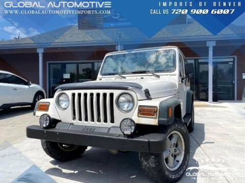 1997 Jeep Wrangler for sale at Global Automotive Imports in Denver CO