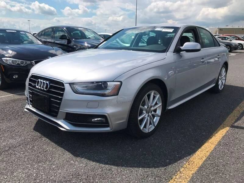 2015 Audi A4 for sale at SILVER ARROW AUTO SALES CORPORATION in Newark NJ