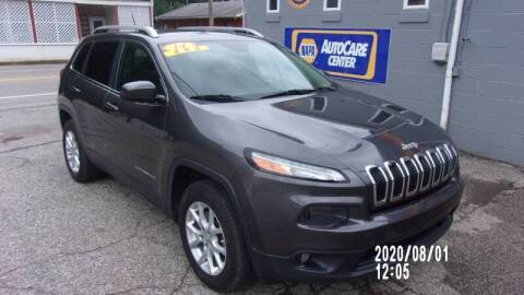 2014 Jeep Cherokee for sale at Allen's Pre-Owned Autos in Pennsboro WV