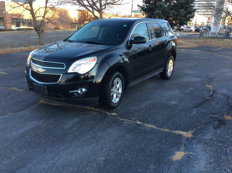 2015 Chevrolet Equinox for sale at AROUND THE WORLD AUTO SALES in Denver CO