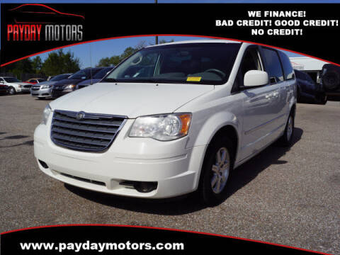 2010 Chrysler Town and Country for sale at Payday Motors in Wichita KS