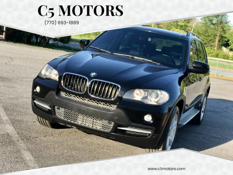 2007 BMW X5 for sale at C5 Motors in Marietta GA