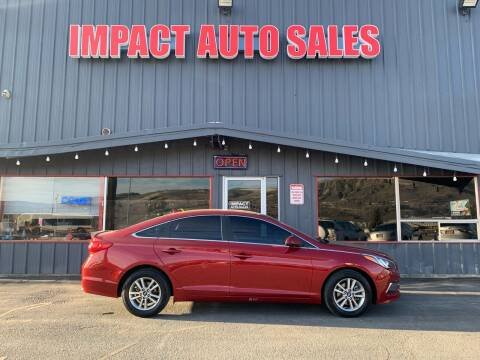 2015 Hyundai Sonata for sale at Impact Auto Sales in Wenatchee WA
