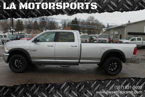 2014 RAM Ram Pickup 3500 for sale at LA MOTORSPORTS in Windom MN