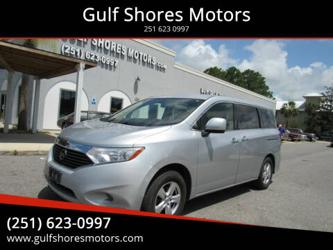2015 Nissan Quest for sale at Gulf Shores Motors in Gulf Shores AL
