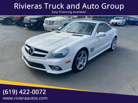 2011 Mercedes-Benz SL-Class for sale at Rivieras Truck and Auto Group in Chula Vista CA