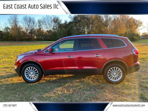2012 Buick Enclave for sale at East Coast Auto Sales llc in Virginia Beach VA