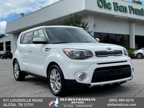 2018 Kia Soul for sale at Ole Ben Franklin Motors-Mitsubishi of Alcoa in Alcoa TN