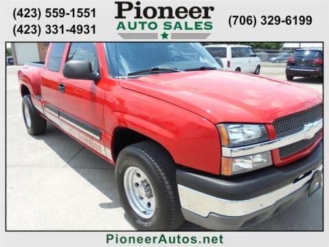 2003 Chevrolet Silverado 1500 for sale at PIONEER AUTO SALES LLC in Cleveland TN