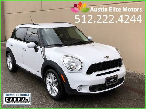 2014 MINI Countryman for sale at Austin Elite Motors in Austin TX
