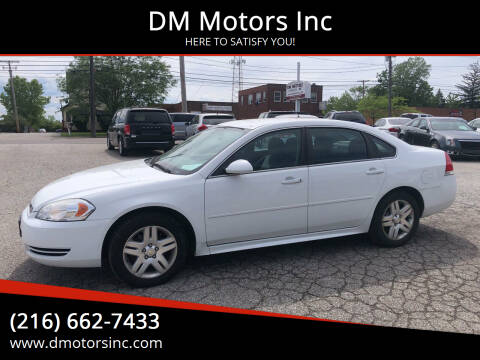 2013 Chevrolet Impala for sale at DM Motors Inc in Maple Heights OH