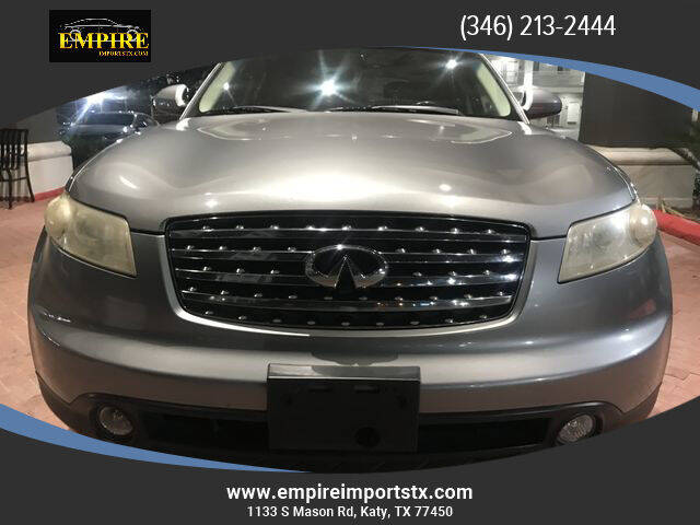 2005 Infiniti FX35 for sale at EMPIREIMPORTSTX.COM in Katy TX