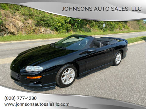 2002 Chevrolet Camaro for sale at Johnsons Auto Sales, LLC in Marshall NC