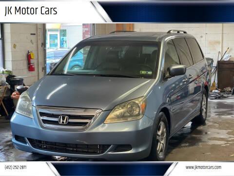 2005 Honda Odyssey for sale at JK Motor Cars in Pittsburgh PA