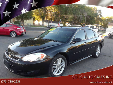 2016 Chevrolet Impala Limited for sale at SOLIS AUTO SALES INC in Elko NV