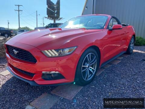 2015 Ford Mustang for sale at Modern Motorcars in Nixa MO