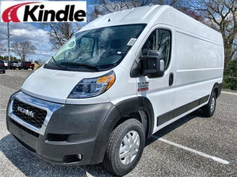 2021 RAM ProMaster Cargo for sale at Kindle Auto Plaza in Middle Township NJ