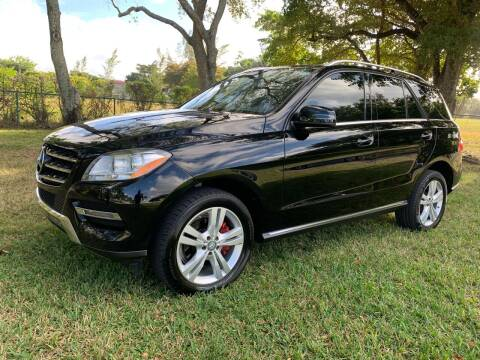 2015 Mercedes-Benz M-Class for sale at Top Trucks Motors in Pompano Beach FL