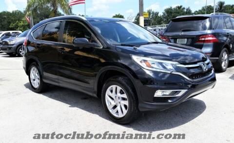 2016 Honda CR-V for sale at AUTO CLUB OF MIAMI in Miami FL