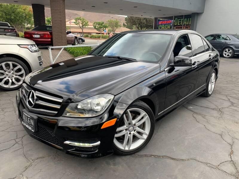 2014 Mercedes-Benz C-Class for sale at Allen Motors, Inc. in Thousand Oaks CA