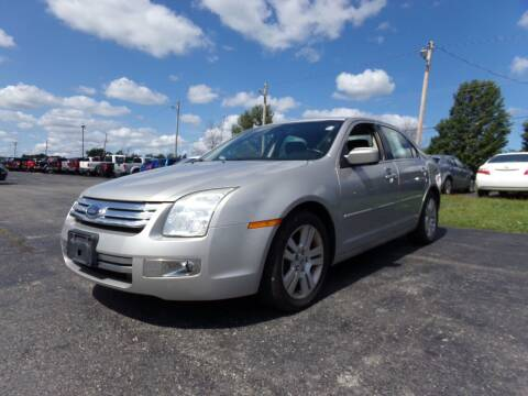 2008 Ford Fusion for sale at Pool Auto Sales Inc in Spencerport NY