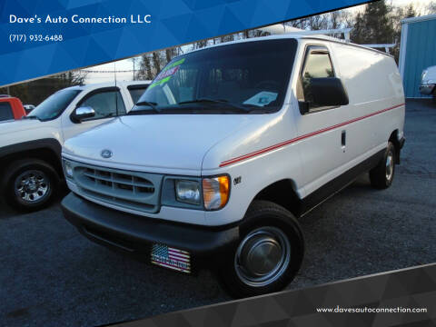 2002 Ford E-Series Cargo for sale at Dave's Auto Connection LLC in Etters PA