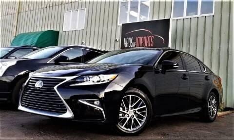 2017 Lexus ES 350 for sale at Haus of Imports in Lemont IL