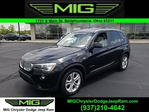 2017 BMW X3 for sale at MIG Chrysler Dodge Jeep Ram in Bellefontaine OH