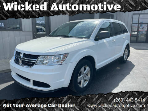 2012 Dodge Journey for sale at Wicked Automotive in Fort Wayne IN