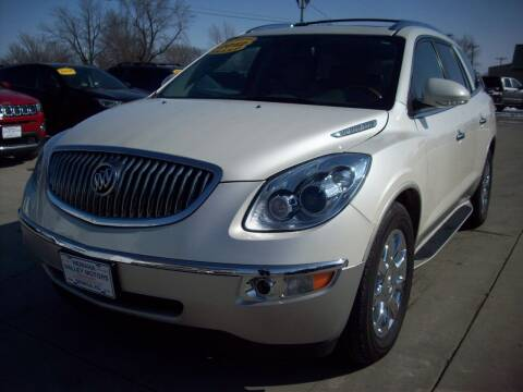 2012 Buick Enclave for sale at Nemaha Valley Motors in Seneca KS