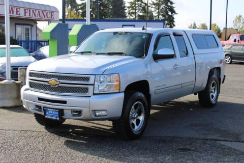 2013 Chevrolet Silverado 1500 for sale at BAYSIDE AUTO SALES in Everett WA