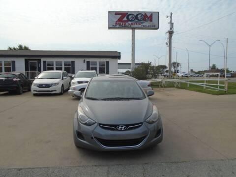 2013 Hyundai Elantra for sale at Zoom Auto Sales in Oklahoma City OK